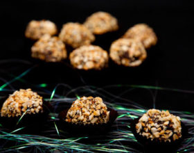 Chocolate truffles vị cam