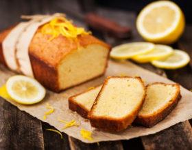 Bánh bông lan chanh vàng với Nồi chiên không dầu Cosori