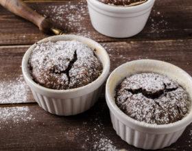 Chocolate Souffle với Nồi chiên không dầu Cosori
