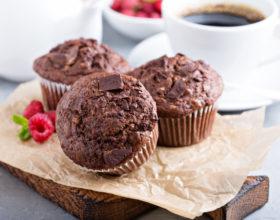 Bánh Muffin chocolate chips với Nồi chiên không dầu Cosori