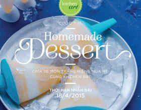 Món ngọt cho mùa hè _ cuộc thi dành cho các bạn yêu bếp