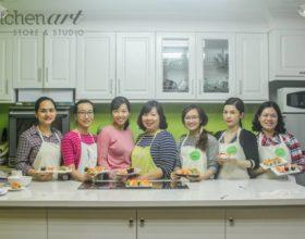 Lịch học tháng 04/2017 tại Kitchen Art Studio mới! (số 20 Phạm Huy Thông, phòng 801).